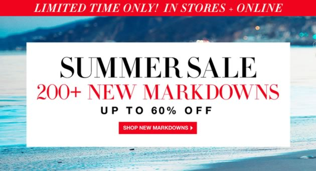 BCBGMAXAZRIA Summer Sale