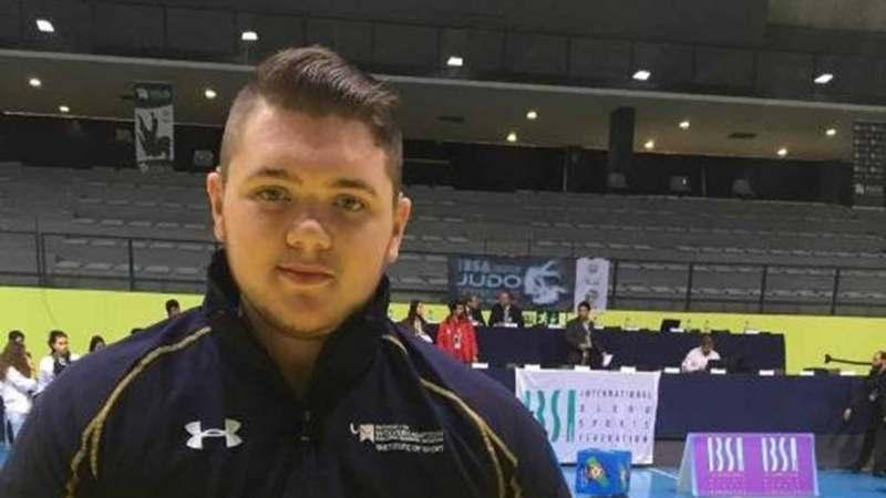 Jack Hodgson, Judo Paralympian. Photo: Jack Hodgson