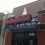 Mongolie Grill Downtown at 10104 109 Street.