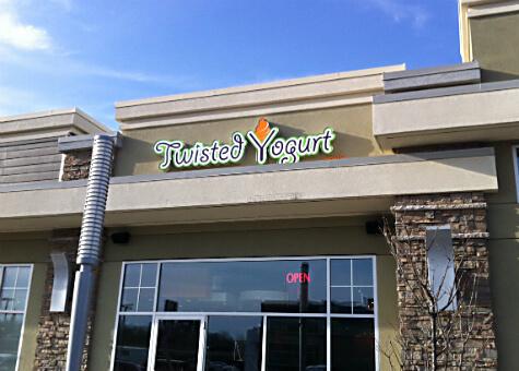 Twisted Yogurt Spruce Grove at 131 Century Crossing Road.