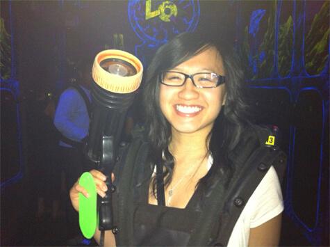 Laser tag night!