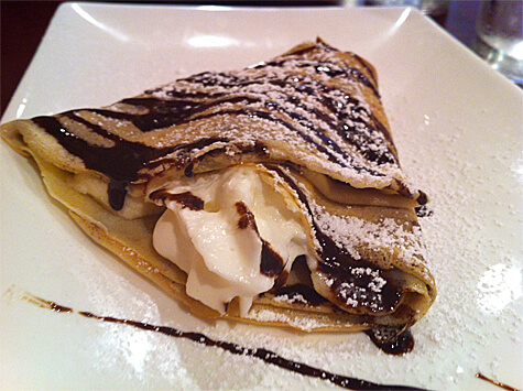 Banana Nutella Crepe from Crepe Symphony at Dishcrawl Edmonton