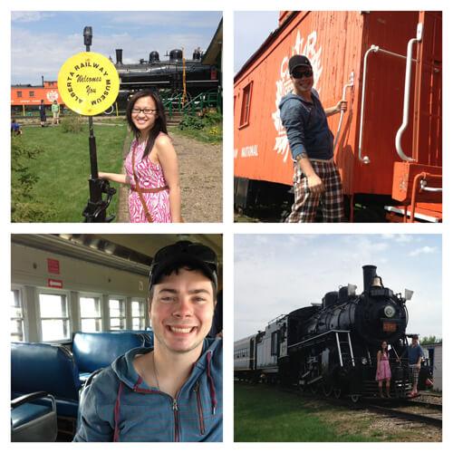 Day trip to the Alberta Railway Museum!