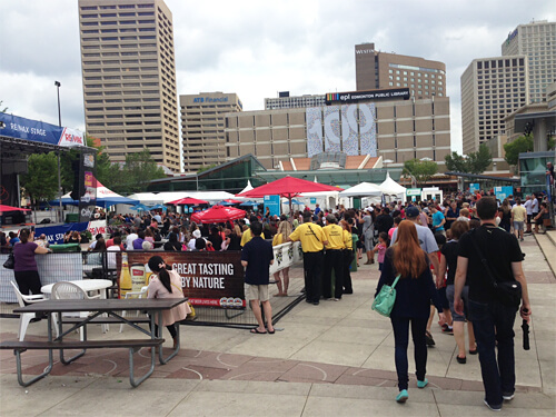A Taste of Edmonton in Churchill Square!