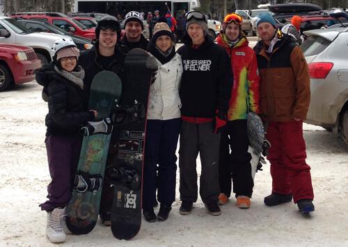 Snowboard crew!