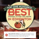 We're in the Tomato Food Drink's Top 25 list of best things to eat or drink in Edmonton!