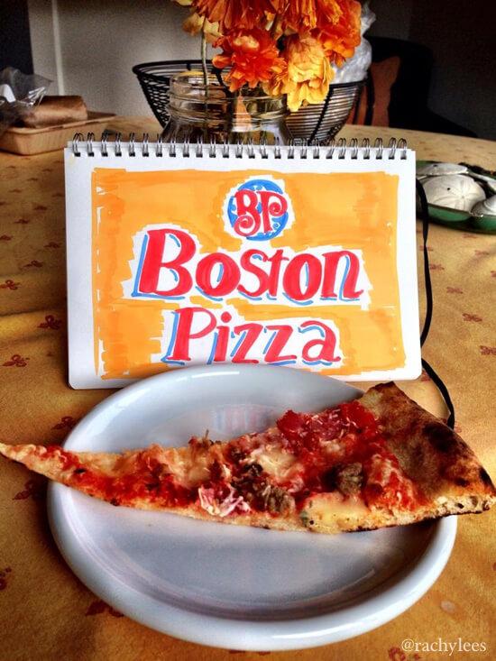 Boston Pizza - Broke Canadian Art
