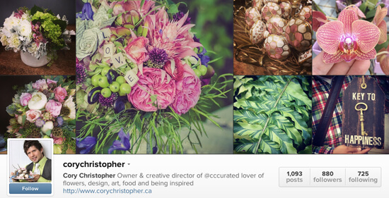 Edmonton Instagram - Cory Christopher