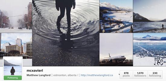 Edmonton Instagram Users - Mcxavierl