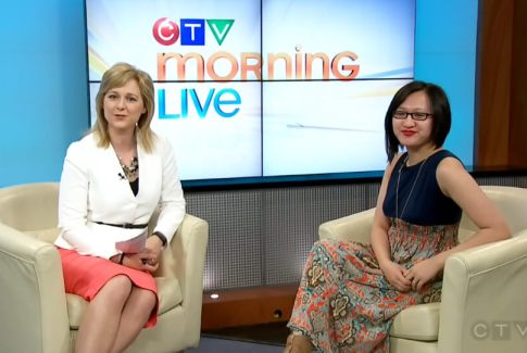 Linda Hoang CTV Morning Live Food Blogger