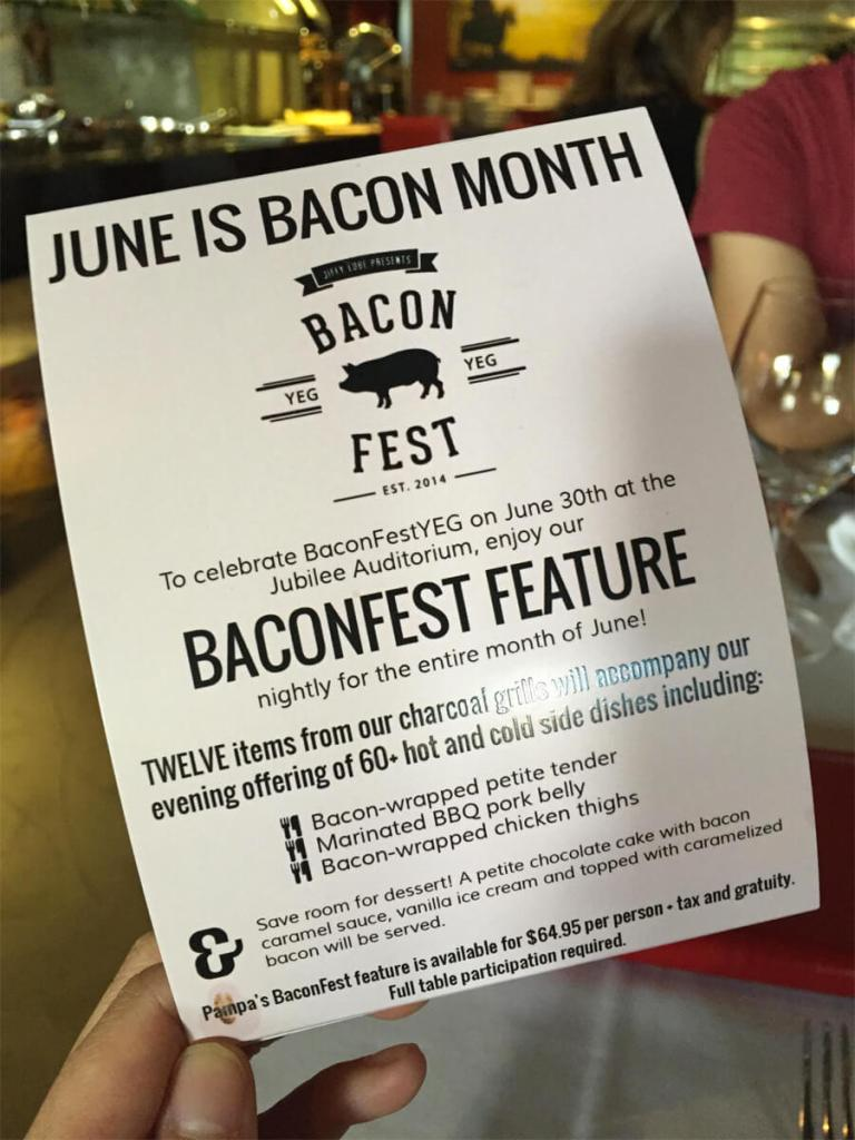 BaconFest Edmonton - Pampa