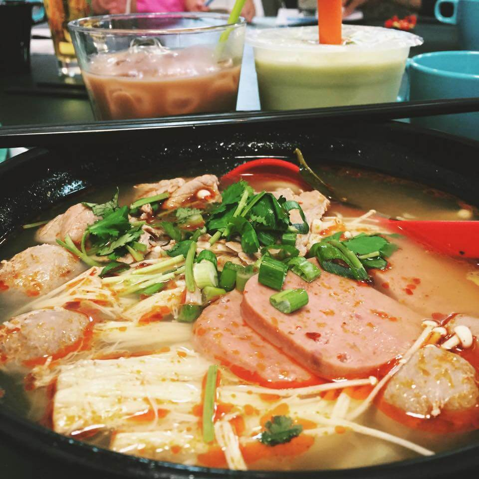 Build your own noodle bowl at Tao Garden located at 9642 107 Ave. in Chinatown.
