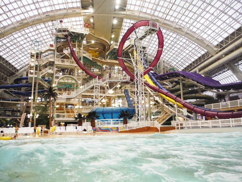 West Edmonton Mall - World Water Park - Edmonton - Water Slides