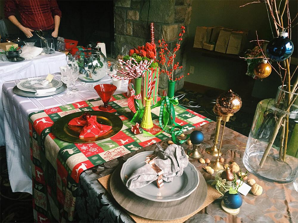 Christmas in November Decorating
