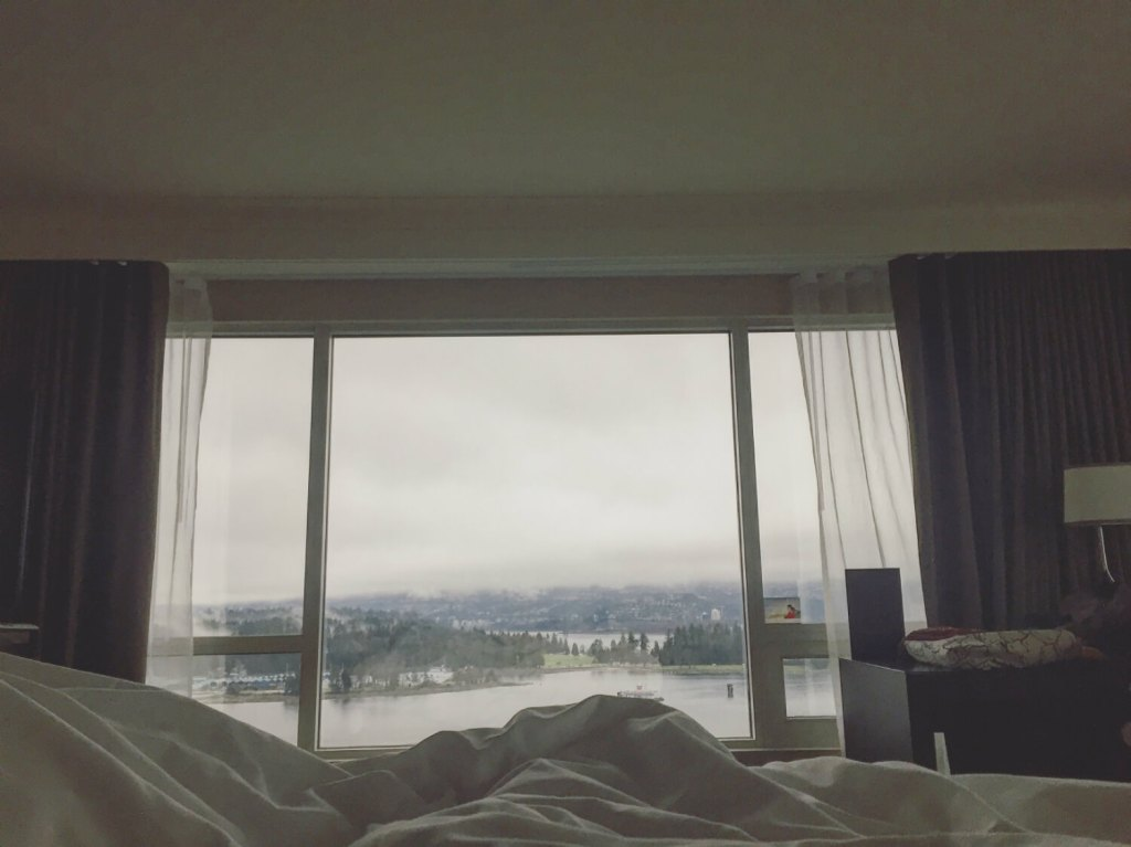 Fairmont Waterfront Vancovuer - Scenic Habour View