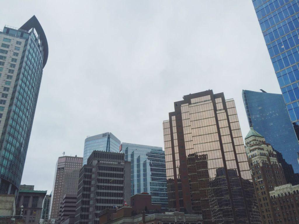 Vancouver City Skyline Downtown