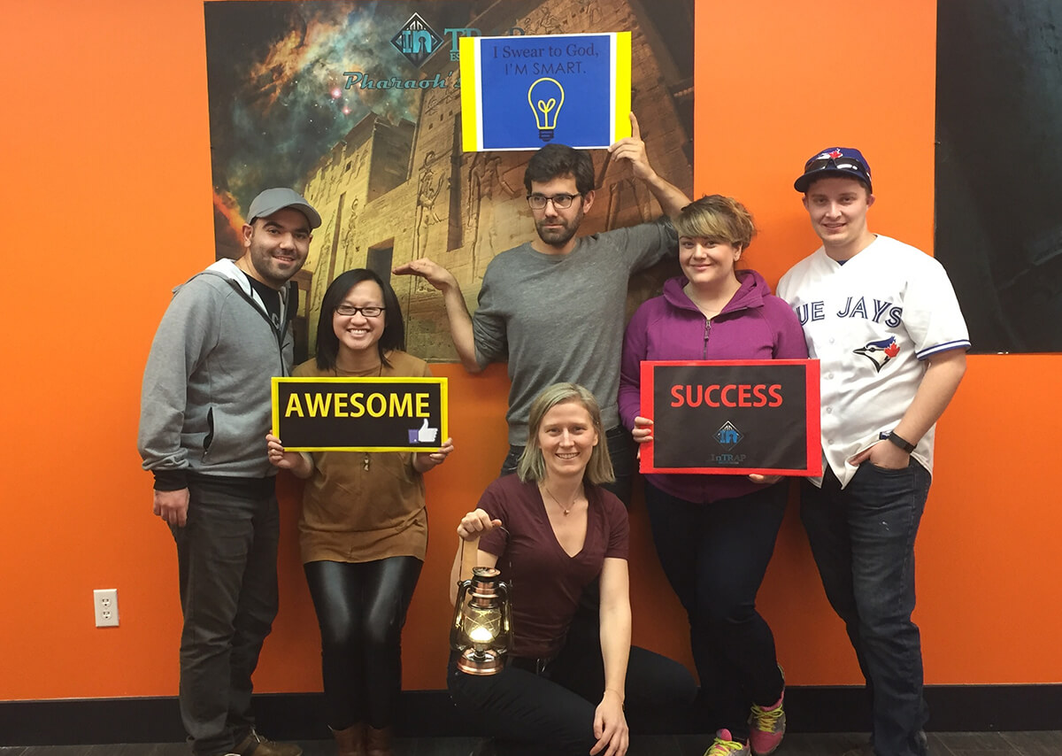 Recap + Giveaway: InTRAP Edmonton Escape Room