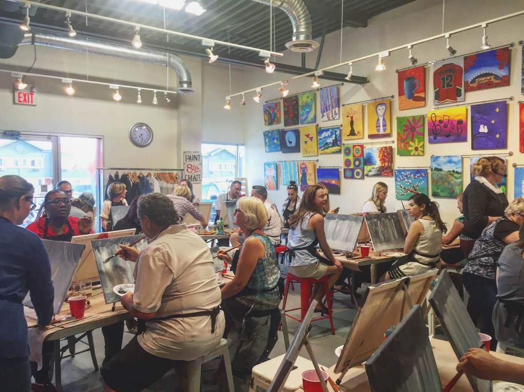 Calgary - Vin Gogh Paint Studio - Best Weekend Ever 48 Hours Tourism