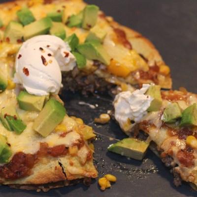 Mexikósk pizza
