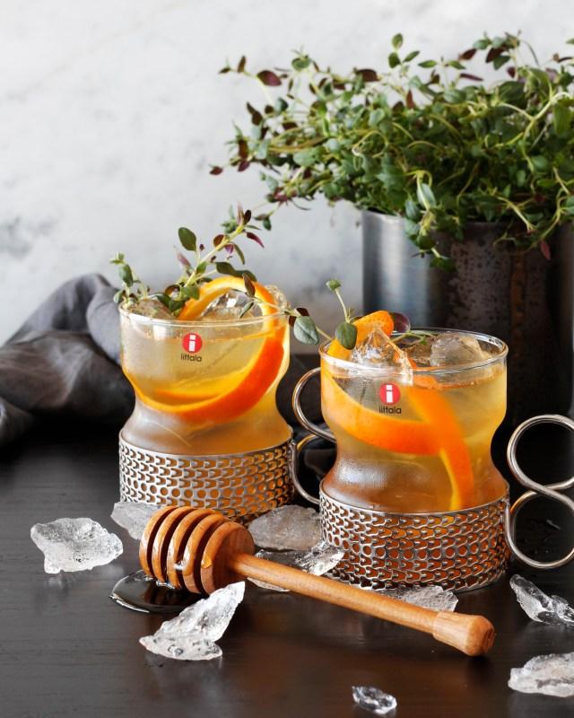 Mjúkur hunangs kokteill