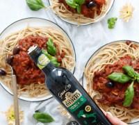 Ekkert kjöt spagetti