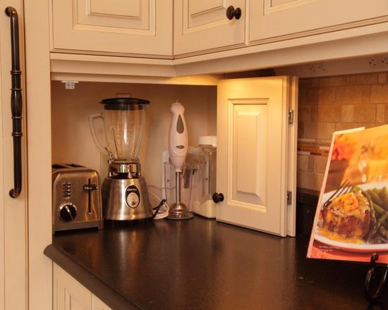 oppbevaring kjøkkenmaskiner