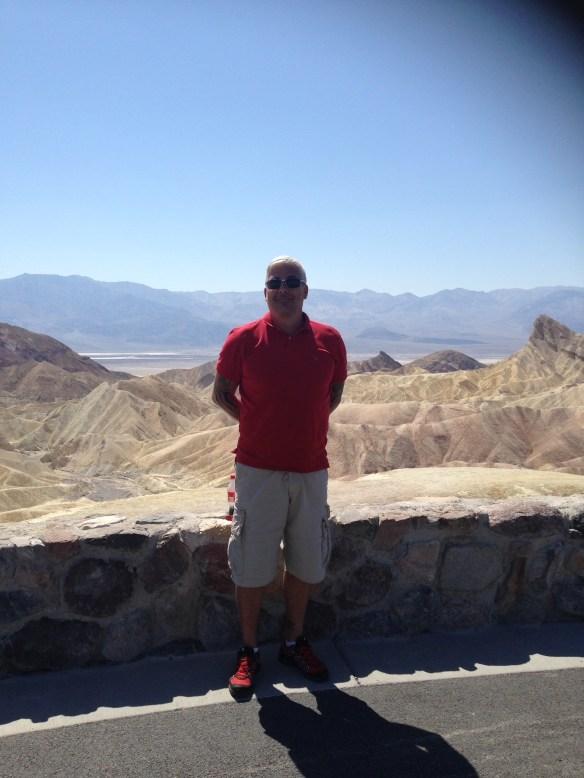 Death Valley utsiktspunkt Geir