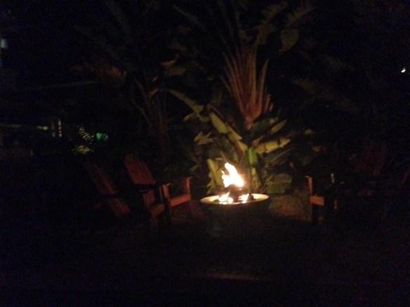 Morro Bay Hotel fireplace