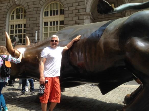 New York Wall Street Charging Bull Geir