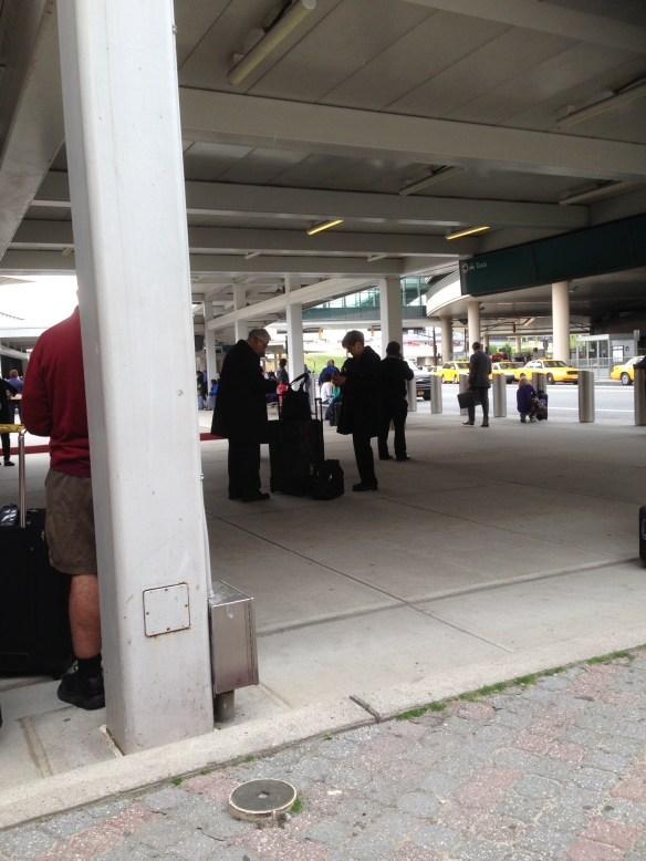 Newark Flyplass New York Evakuert 6 mai 2015