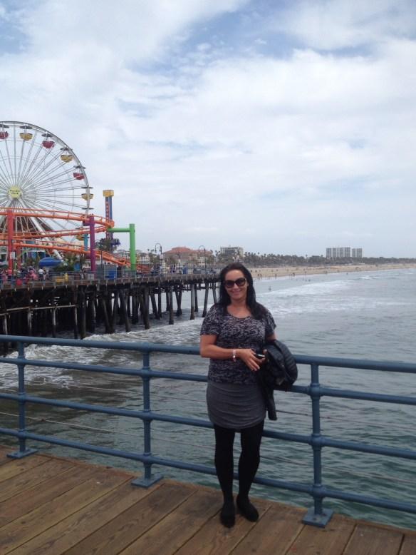 Santa Monica Pier Linda
