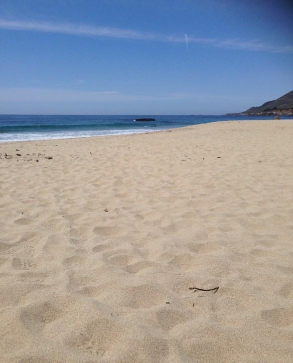 Strand på vei mot LA 6