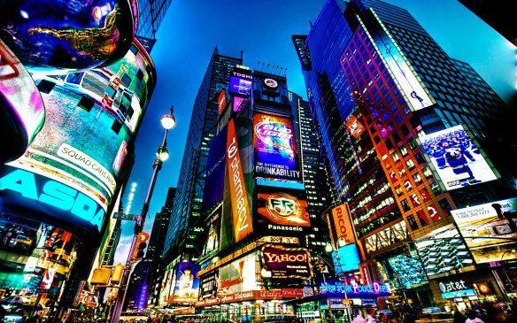 Times Square New York 1