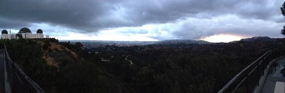 Utsikt fra Griffit Observatory 1