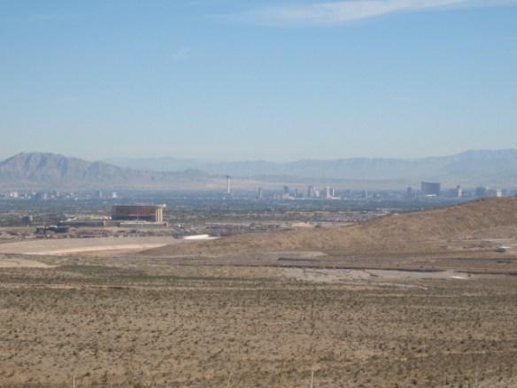 innkjøring mot Las Vegas