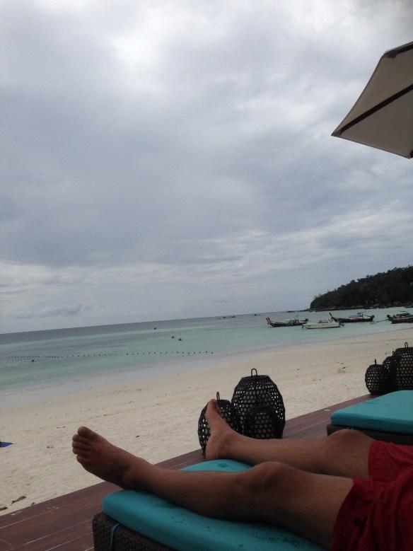 Akira bassengområde utsikt Pattaya Beach