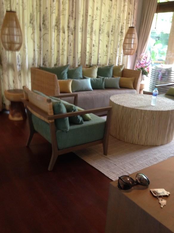Akira stue i villa Koh Lipe