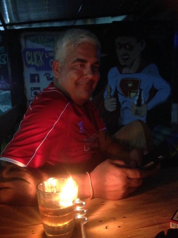 Geir fotballkamp bar Koh Lipe