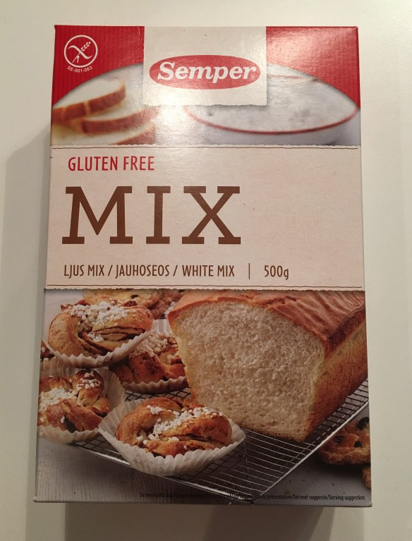 Semper Gluten fri brød mix lys type