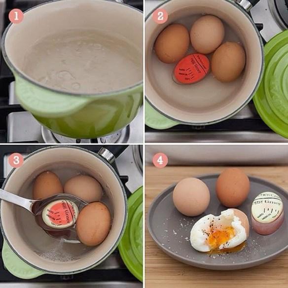 Eggtimer miljøbilde panne woweffekt