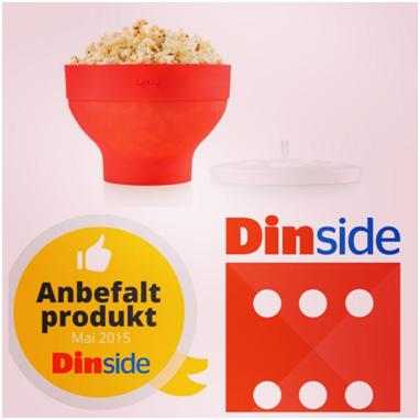 Lekue Din side karakter Popcorn maker