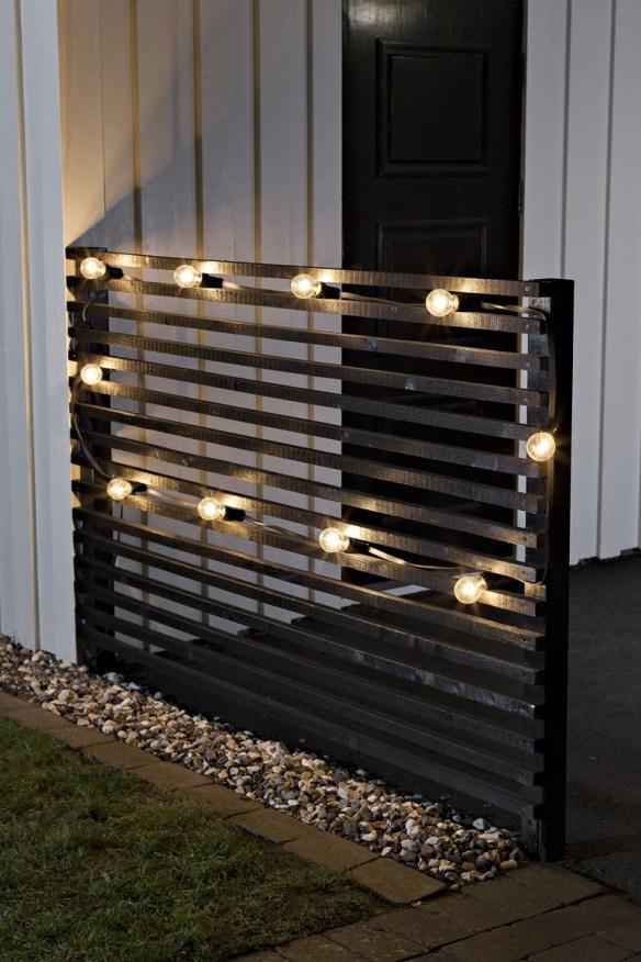 Utendørs lyslenke LED 10 lys