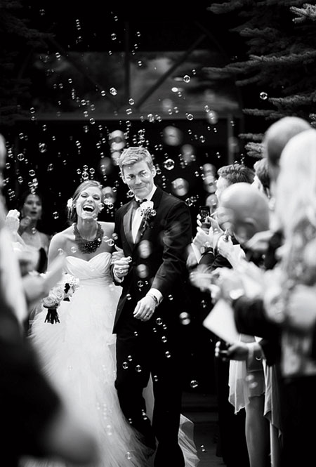 såpebobler bryllup
