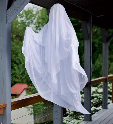 utendørs halloween spøkelse