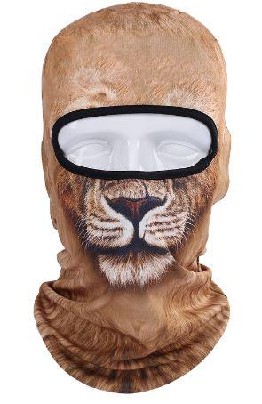 Skimaske løve