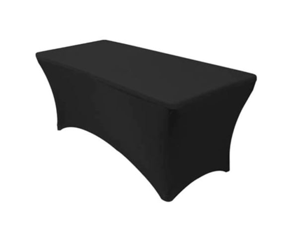 Bord trekk langbord sort