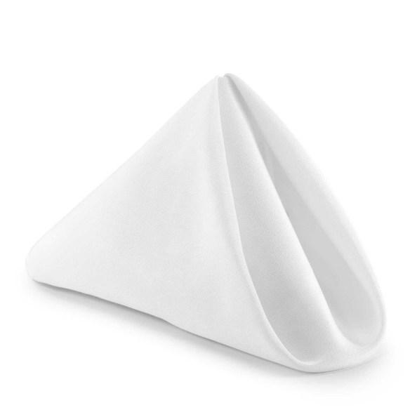 Serviett hvit