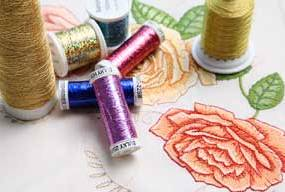 Stitching successfully with metallic threads is possible!!! LindeeGEmbroidery.com