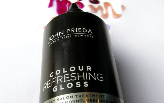 John Frieda colour refreshing gloss, colour refresh gloss, color refresh gloss, colour boost, hair dye, keep hair colour bright longer