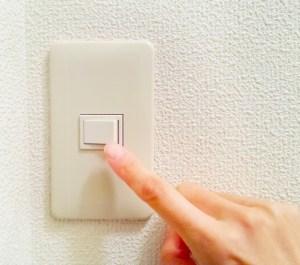 照明のスイッチ